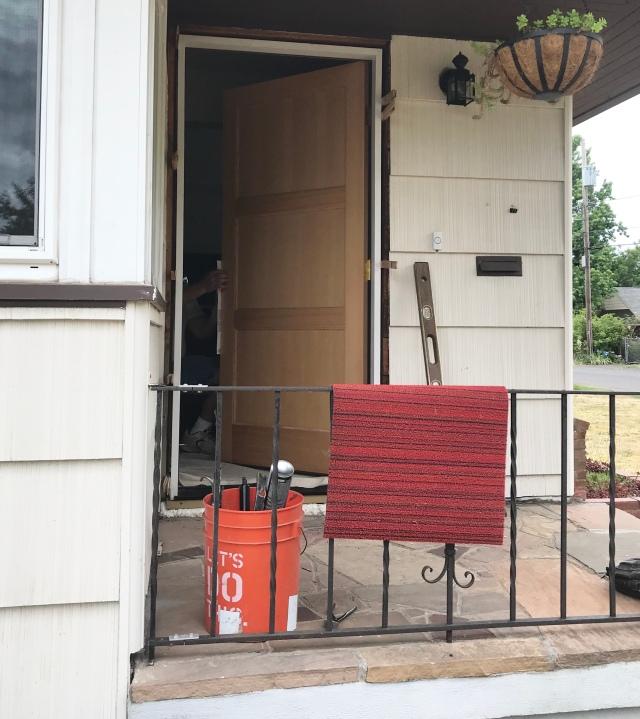 New Exterior Doors Strubgrass Ranch